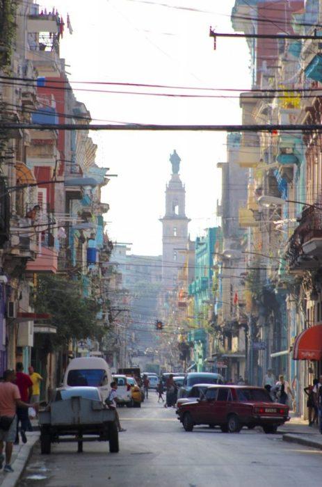 our 'hood in Havana