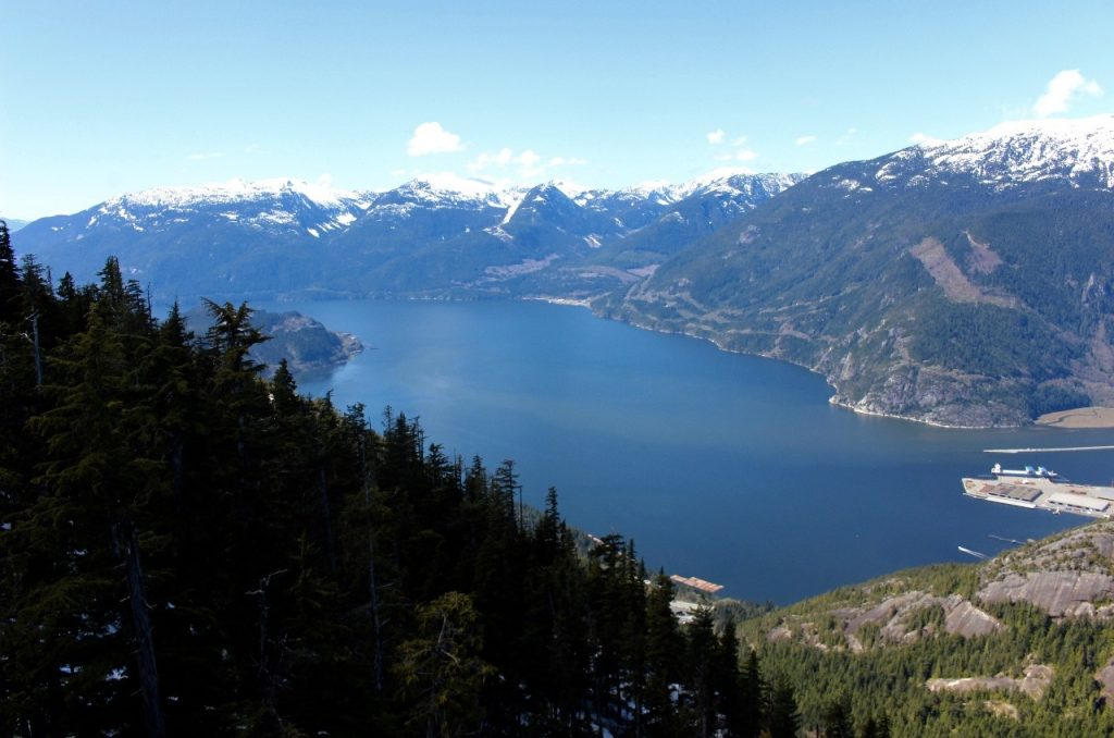 Howe Sound view