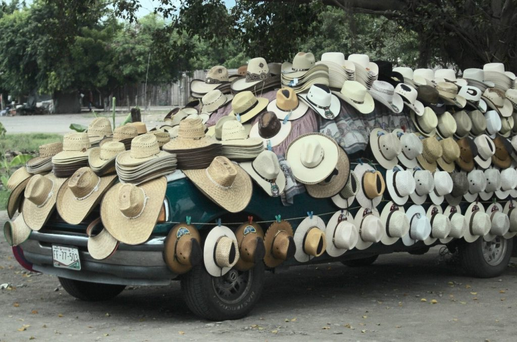 hats on wheels