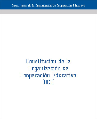 Constitutive Charter of the Organisation