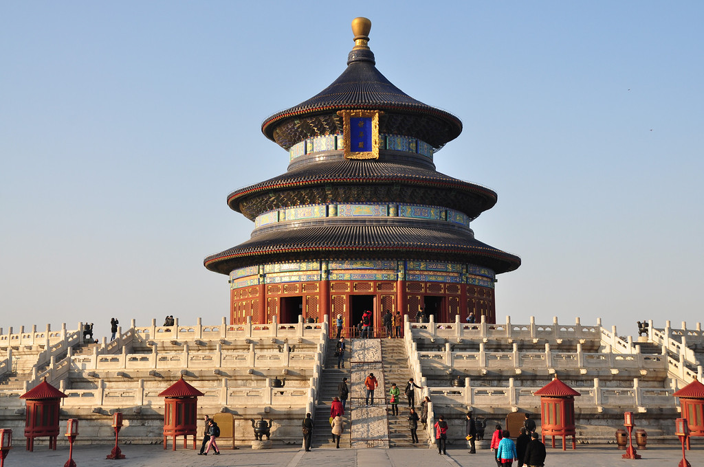 Hall of Prayer for Good Harvests - Temple of Heaven 天坛 - Beijing - China