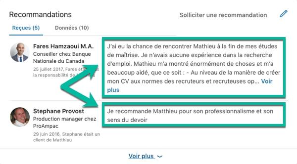 L œil Du Recruteur 10 Differences Entre Le Profil Linkedin Et Le Cv