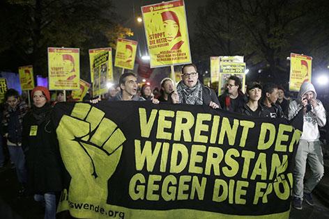 Gegendemo gegen Kundgebung der FPÖ wegen Imamschule