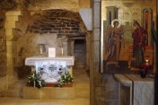 Die Verkündigungsgrotte in Nazareth