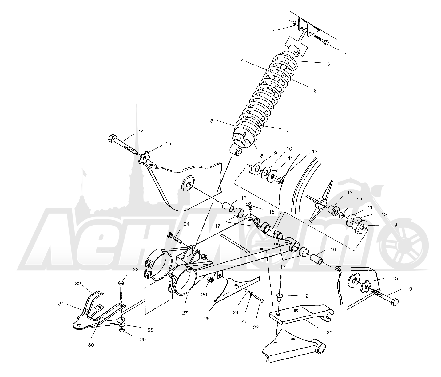 Diagram Polaris Magnum 425 4x4 Wiring Diagram Full