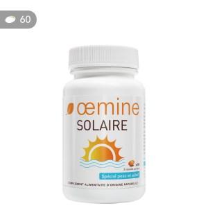 Oemine solaire pour préparer la peau au soleil