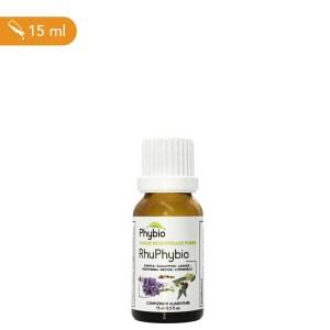 RhuPhybio est un complexe d'huiles essentielles pour tonifier et lutter contre les agents extérieurs.