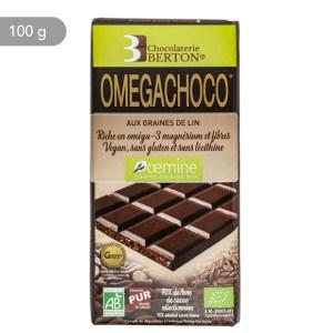 OEMGACHOCO est un chocolat bio fabriqué de façon artisanale aux vertus nutraceutiques
