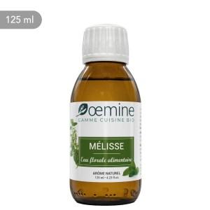Hydrolat de Mélisse certifié biologique. Sans conservateur.