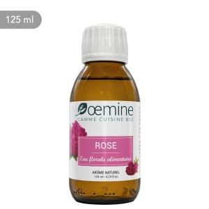 Hydrolat de Rose de Damas certifié biologique. Sans conservateur.