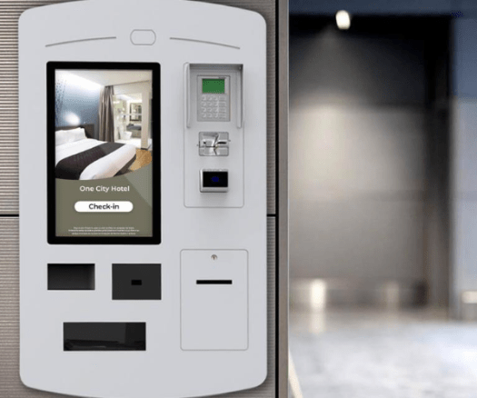 Self-service kiosks for hotels are here to stay