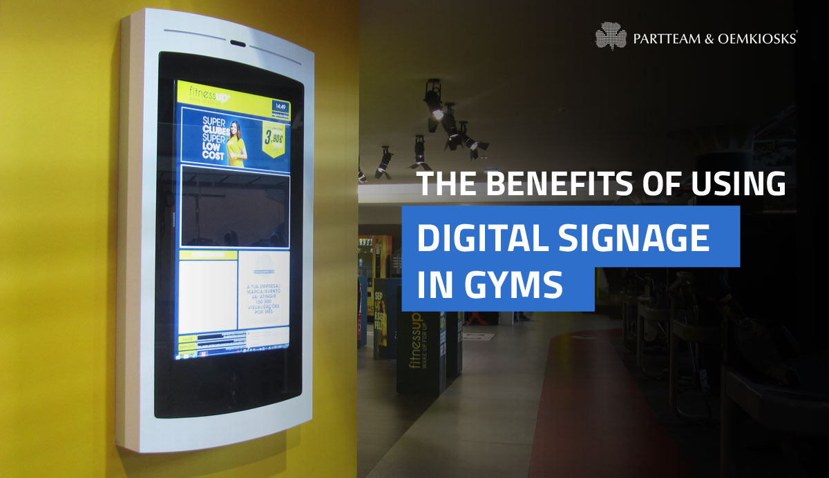 The benefits of using digital signage in gyms