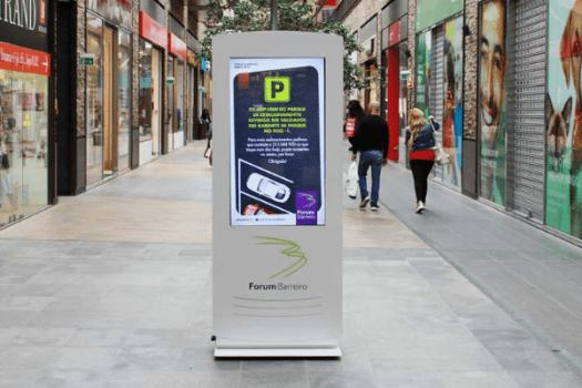 Fórum Barreiro: Sinalética digital para comunicar no timing da compra