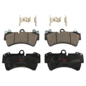 TRW TPC1014 Premium Ceramic Front Disc Brake Pad Set