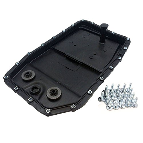 JSD LR007474 Engine 6HP26 Auto Transmission Oil Pan Filter Gasket Screws for Land Rover Range Rover Sport LR3 LR4 BMW 335d 550i 650i 750i 750Li X5 X6 Alpina Jaguar XJ XF XFR