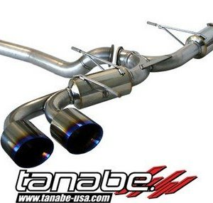 Tanabe T70146 Medalion Touring Cat-Back Exhaust System for Nissan GT-R 2009-2009