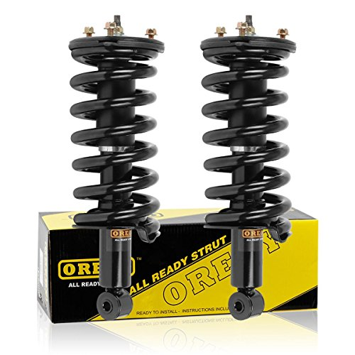 Front Pair Quick Strut Complete Assembly Shock Absorber 11300 G57092 Fits for 05 06 07 08 09 10 11 12 Nissan Armada 04 05 06 07 08 09 10 11 12 13 Nissan Titan 04 05 06 07 08 09 10 Infiniti QX56