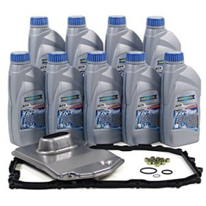 Blau F2A1020-C Porsche Cayenne ATF Automatic Transmission Fluid Filter Kit - 2003-10 w/6 Speed Tiptronic