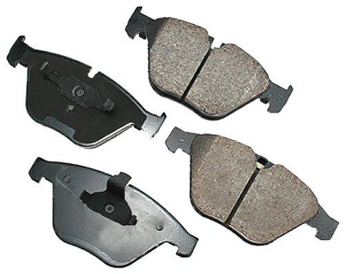 Akebono EUR918 EURO Ultra-Premium Ceramic Brake Pad Set