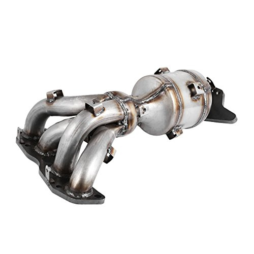Happybuy Exhaust Manifold Catalytic Converter 2.5L Catalytic Converter Catalytic Converter Manifold for Nissan Altima 2007-2012 with Gaskets and Hardware