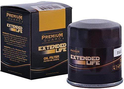 Premium Guard Oil Filter, Extended Life PG4612EX | Fits 97 Acura CL; 97-99 Acura CL; 98-99 Acura CL, SLX; 01-03 Acura CL; 06-11 Acura CSX; 97-00 Acura EL; 01-05 Acura EL; 13-15 Acura ILX (Pack of 6)