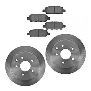 Rear Premium Posi Ceramic Brake Pad & Rotor Kit Set for Nissan Altima