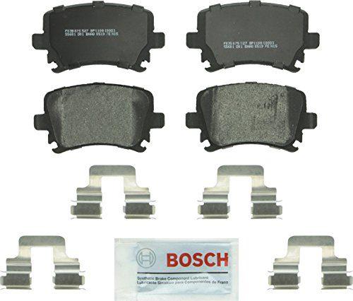 Bosch BP1108 QuietCast Premium Semi-Metallic Rear Disc Brake Pad Set