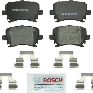 Bosch BP1108 QuietCast Premium Semi-Metallic Rear Disc Brake Pad Set