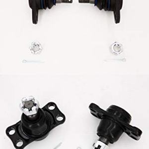 ALN Suspension 2 Front Lower Outer 2 Inner Ball Joint For Nissan Skyline Gtr R32 R33 R34 90-02