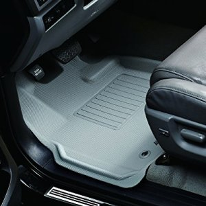 3D MAXpider Front Row Custom Fit All-Weather Floor Mat for Select Hyundai