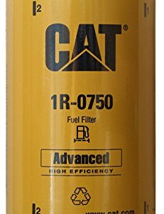Caterpillar 1R-0750 Advanced High Efficiency Fuel Filter Multipack (Pack of 4)