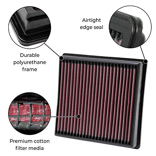 K&N Filters E-0644 Air Filter (17- Ford F250 6.7L DSL)