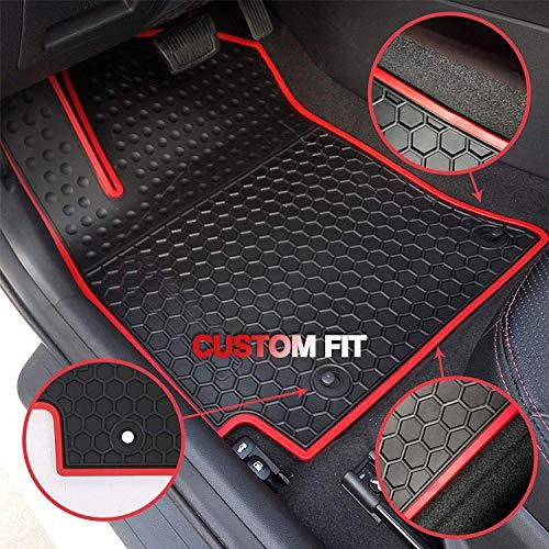 HD-Mart Car Floor Mats Rubber for Toyota RAV4