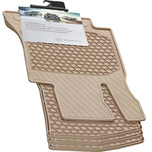 Mercedes-Benz OEM All Weather Season Floor Mats 2014 to 2019 S-Class