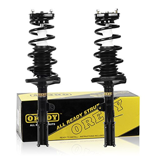 OREDY Rear Pair Complete Quick Struts Shock Coil Spring Kit