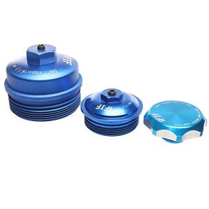 iFJF Oil filter Cap & Fuel filter Cap & Oil Fill Cap without O-rings