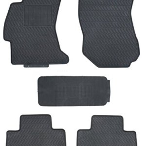 TMB Motorsports Floor Mats for 2014-2018 Subaru Forester Custom Black Rubber