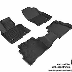 3D MAXpider Black All-Weather Floor Mat for Select Mazda Cx-5 Models