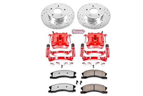 Power Stop KC2149-36 Front Z36 Truck and Tow Brake Kit with Calipers
