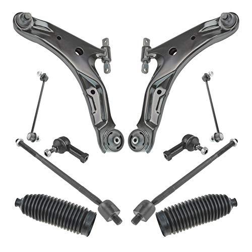 Steering & Suspension Kit Front LH RH Set of 10 for 01-06 Hyundai Santa Fe
