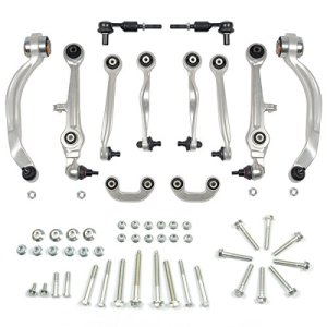 A-Premium Suspension Control Arm Kit Ball Joint Tie Rod Sway Bar Link