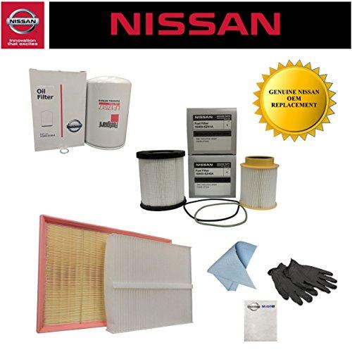 Genuine OEM Nissan Titan XD 5.0L Diesel Maintenance Kit 2
