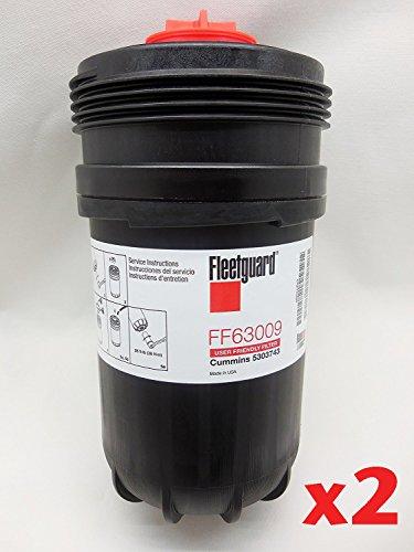 Fleetguard FF63009 (Cummins 5303743) Fuel Filter w/ NanoNet Hi Performance