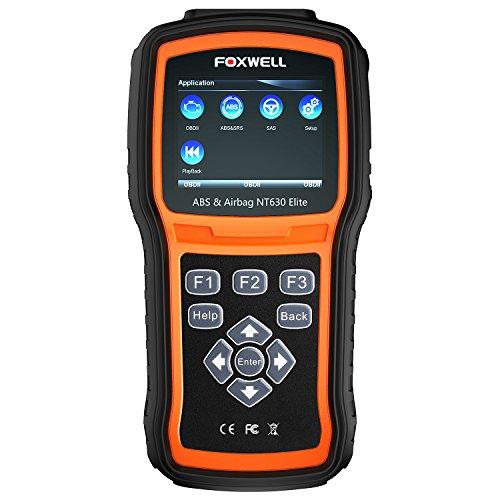 FOXWELL NT630 Elite OBD2 Scanner ABS SRS Code Reader Automotive OBD II