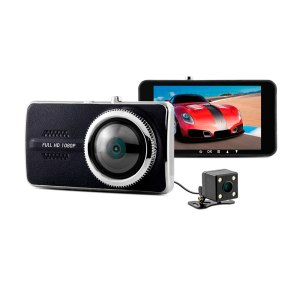 1080P Full HD IPS Screen 170 Degree Wide Angle Lens G-sensor Dash Cam