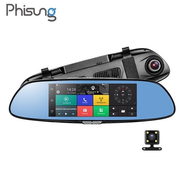 "Phisung C08 3G Car Camera 7"" Android 5.0 GPS dvr car video recorder"