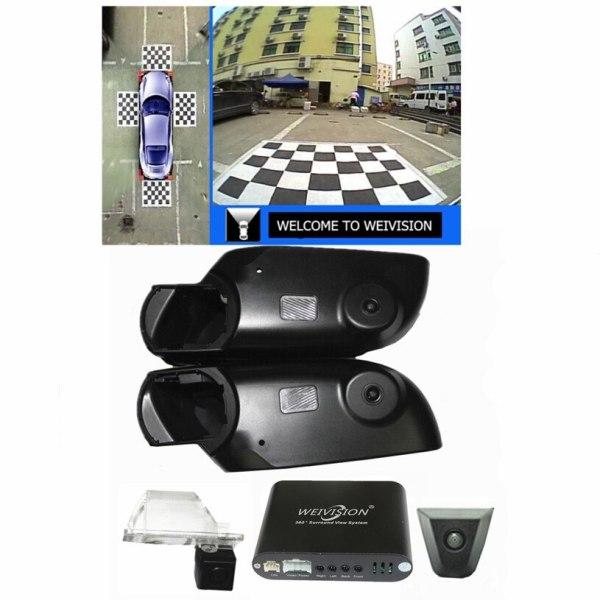 All round rear View Camera for Nissan Qashqai X-Trail