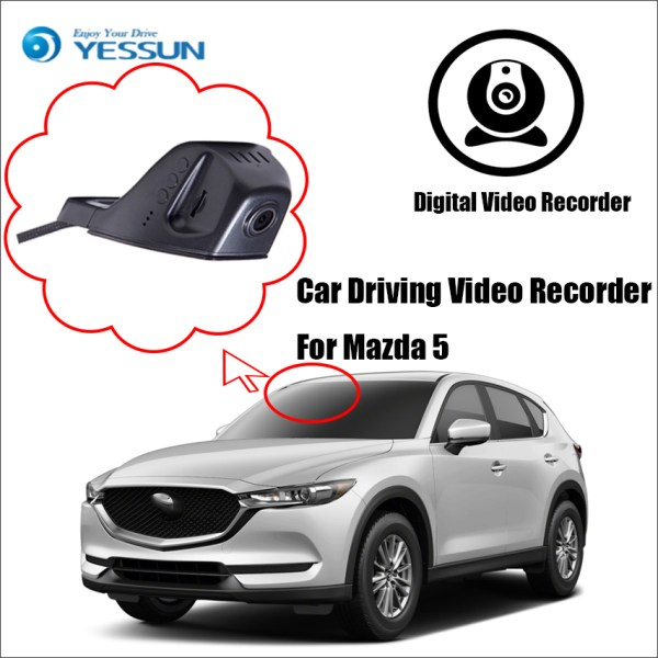 YESSUN Car Front Dash Camera for Mazda 5