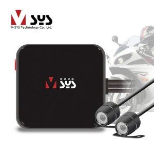 Mini Motorcycle DVR Camera Recorder D1 Dual Separate Waterproof