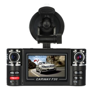 Full HD Car Camera Recorder Car Dvr Dual Lens Dvr 2.7